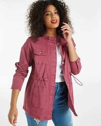 Fashion World Four Pocket Utility Jacket