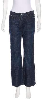 Versace Mid-Rise Flared Jeans