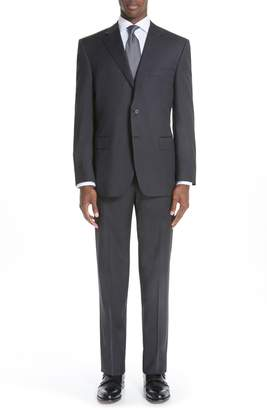 Canali Classic Fit Wool Suit