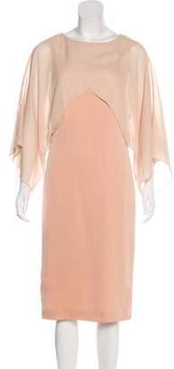 Vionnet Silk Midi Dress