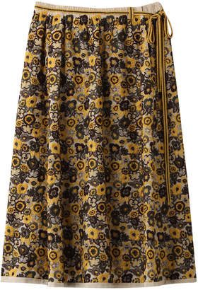Antipast (アンティパスト) - アンティパスト フラワー刺繍スカート