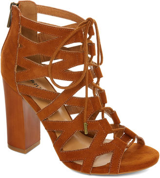 Bamboo Embark Lace-Up Sandals $50 thestylecure.com