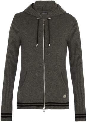 Balmain Zip-through cashmere sweater