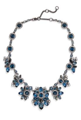 Givenchy Drama Crystal Collar Necklace