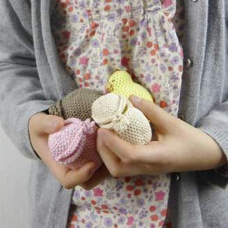 Petit MushyP Easter Chick And Egg Crocheted Toy For Children