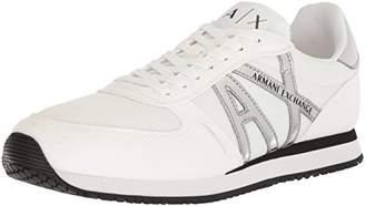 Armani Exchange A X Men's Retro Running Sneaker