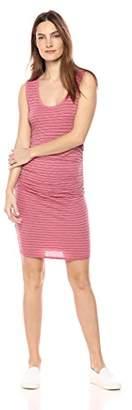 Velvet by Graham & Spencer Women's Genisa Stripe Cotton Knit Dress