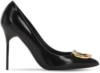 Burberry 105mm Flanagan Leather Pumps