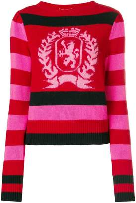 Tommy Hilfiger (トミー ヒルフィガー) - Hilfiger Collection stripe logo sweater