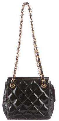 Chanel Patent Vintage Quilted Mini Shoulder Bag