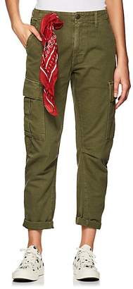 RE/DONE Women's Cotton Twill Crop Cargo Pants