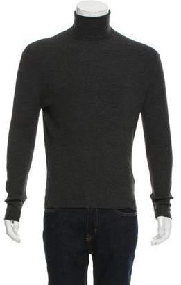 Tom Ford Rib Knit Wool Turtleneck