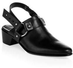 Pierre Hardy Reno Leather Slingback Mules