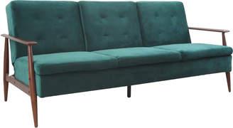 Mikasa Furniture Teal Lindy Sofa Bed