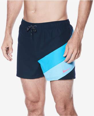 "Nike Men's Signal Colorblocked Volley 4"" Swim Trunks"