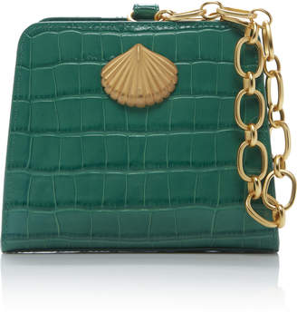Rixo Amelie Embossed Leather Bag