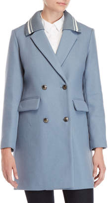 BCBGeneration Varsity Collar Double-Breasted Coat