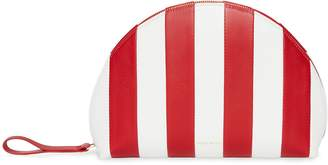 Mansur Gavriel Striped Lamb Mini Moon Clutch