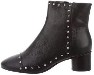 Rebecca Minkoff Embellished Leather Ankle Boots