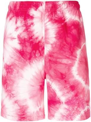 Stussy tie-dye shorts