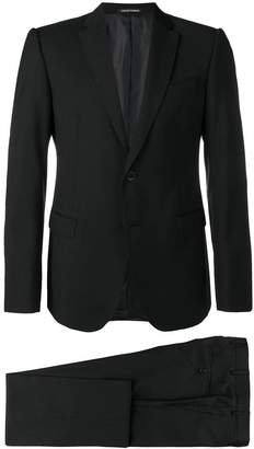 Emporio Armani tailored patterned suit