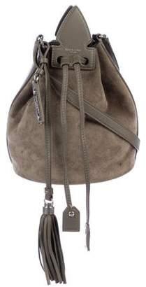 Saint Laurent Anja Suede Bucket Bag