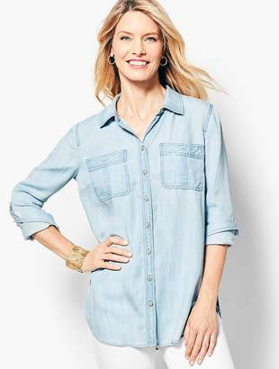 Talbots Tencel® Denim Shirt
