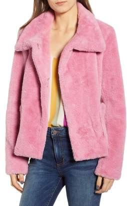 Leith Fur-Fect Faux Fur Jacket