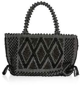 Antonello Tedde Medium Capriccioli Rombi Knit Tote Bag
