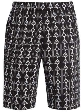 Kappa logo-print cotton-blend track shorts