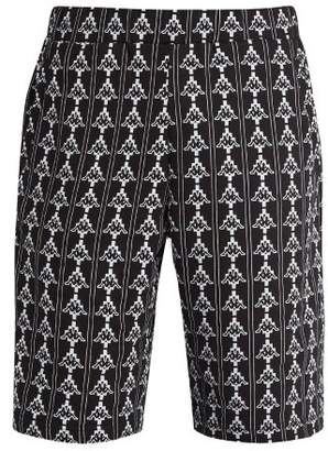 Marcelo Burlon County of Milan Kappa logo-print cotton-blend track shorts