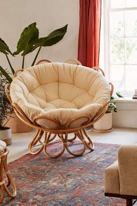 Flora Rattan Papasan Chair