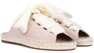 Chloé Suede espadrille sandals
