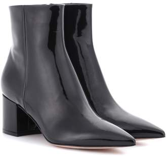 Gianvito Rossi Exclusive to mytheresa.com Piper patent leather ankle boots