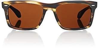 Oliver Peoples Men's Brodsky Sunglasses - Brown