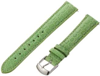 Swiss Watch International 16 MM Lime Green Alligator Strap 16ABR30M
