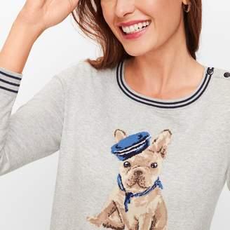 Talbots Frenchie Dog Sweater