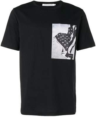 Calvin Klein Jeans flag print T-shirt