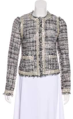 Tory Burch Metallic Woven Jacket