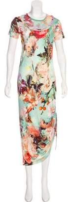 Jean Paul Gaultier Soleil Short Sleeve Maxi Dress w/ Tags