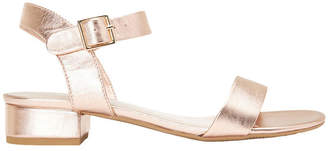 Aiken Rose Gold Metallic Sandal