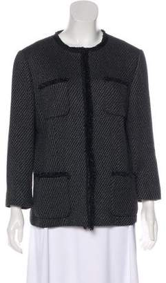Lafayette 148 Houndstooth Casual Jacket