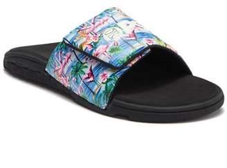 PSD Pink Flamingo Slide Sandal