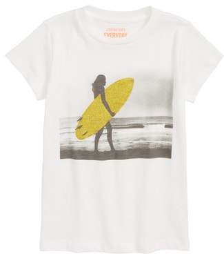J.Crew crewcuts by Sparkly Surfer Graphic Tee