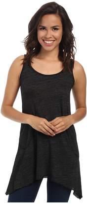 Allen Allen Scoop Neck Angled Tunic Women's Sleeveless