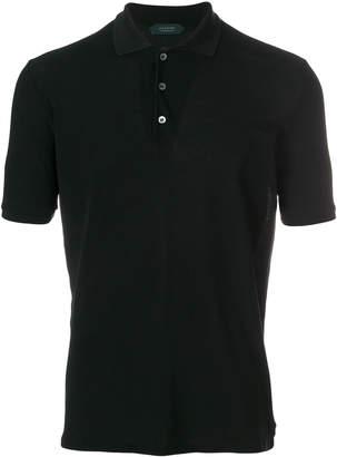 Zanone pique polo shirt