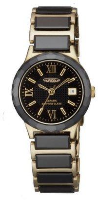 Aureole オレオール) オレオール腕時計 ユニセックス腕時計 約H36.5×W26.5×T6.5mm 約57.5g ステンレスIPG・黒セラミック(SW-481L-2)