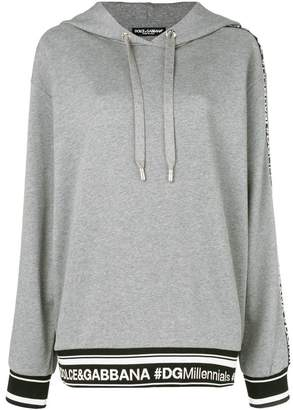 Dolce & Gabbana oversized hooded sweatshirt