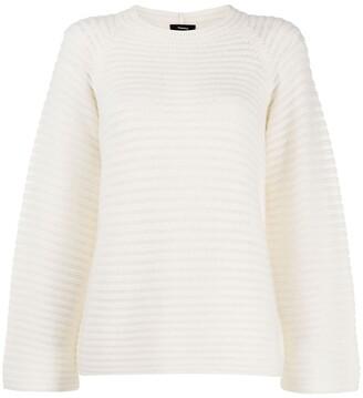 Theory chunky knit raglan jumper
