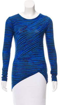 Torn By Ronny Kobo Striped Long Sleeve Top w/ Tags
